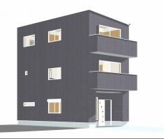 葵区上足洗2丁目 新築分譲住宅 A号棟